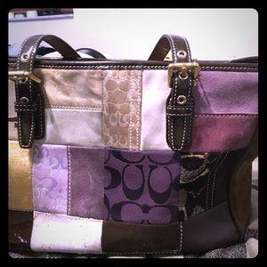 Coach holiday purse